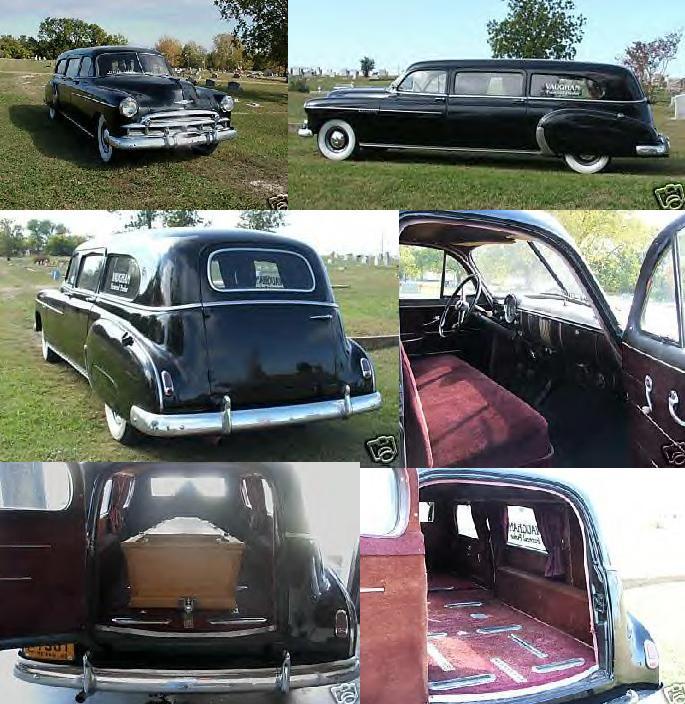 1949 Chevrolet Barnett Hearse ~
