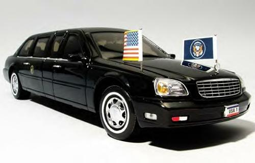 2001 Cadillac DeVille Limousine. George W. Bush