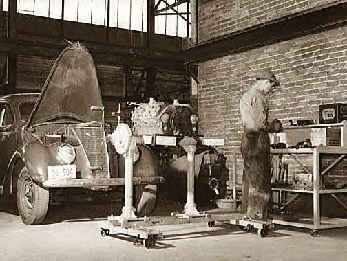 Auto Repair, Atlanta, Ga., 1939