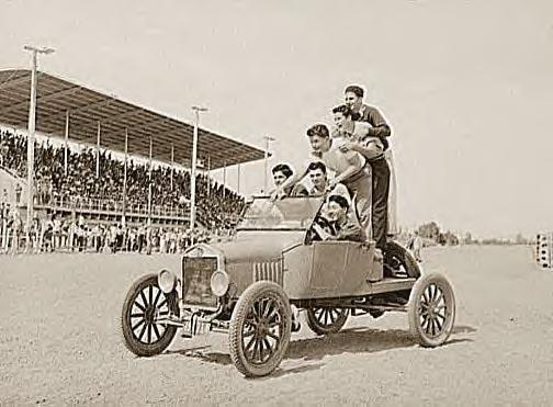 Boys & car, Imperial County Fair, Ca., 1942