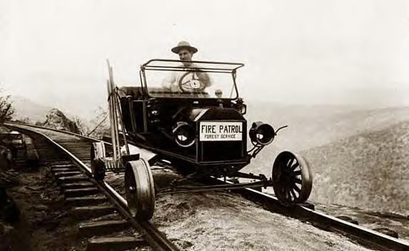 Model T on tracks 1910