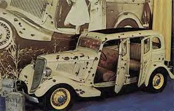 Bonnie & Clyde Movie Car. 1934 Ford Sedan
