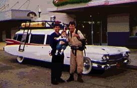 Ghostbusters Hearse