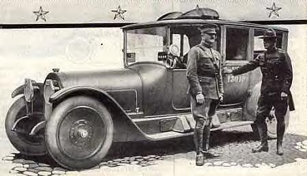 1919 LOCOMOBILE LIMO-STAFF CAR (JOHN J. PERSHING)