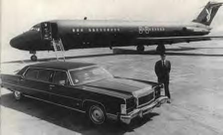 1974 LINCOLN MALONEY LIMO (HUGH HEFNER)