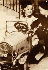 Shirley Temple's pedalcar