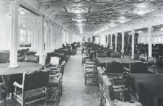 1st Class Dinning Room