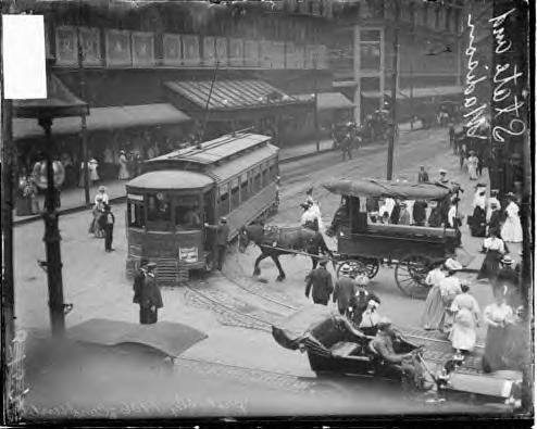Traffic. Chicago 1906