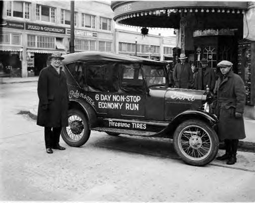 Fuel Economy Demonstration 1927