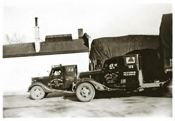 Akron Motor Cargo Co. Trucks 1937