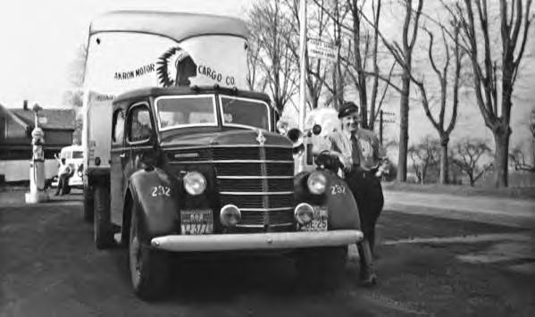 Akron Motor Cargo Co. Truck. 1930s