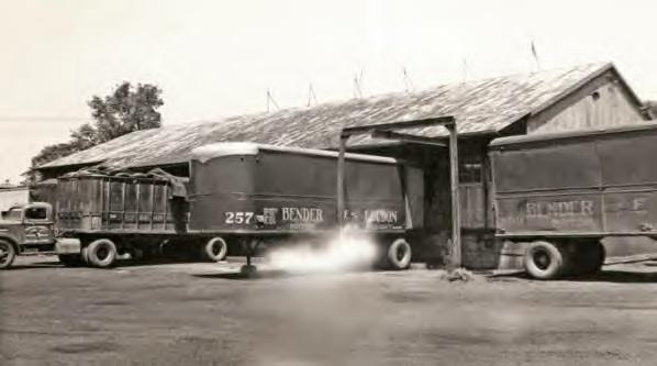 Bender & Loudon Motor Freight Dock 1940s