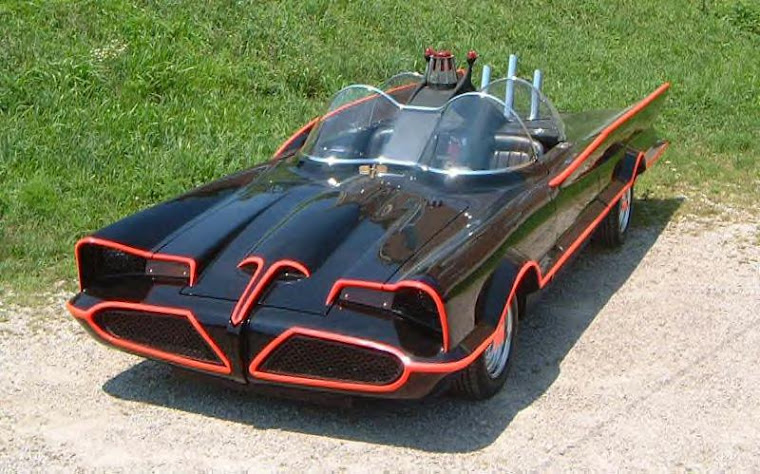 The Batman TV Show, the Batmobile