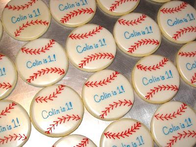 Baseballs Cookies