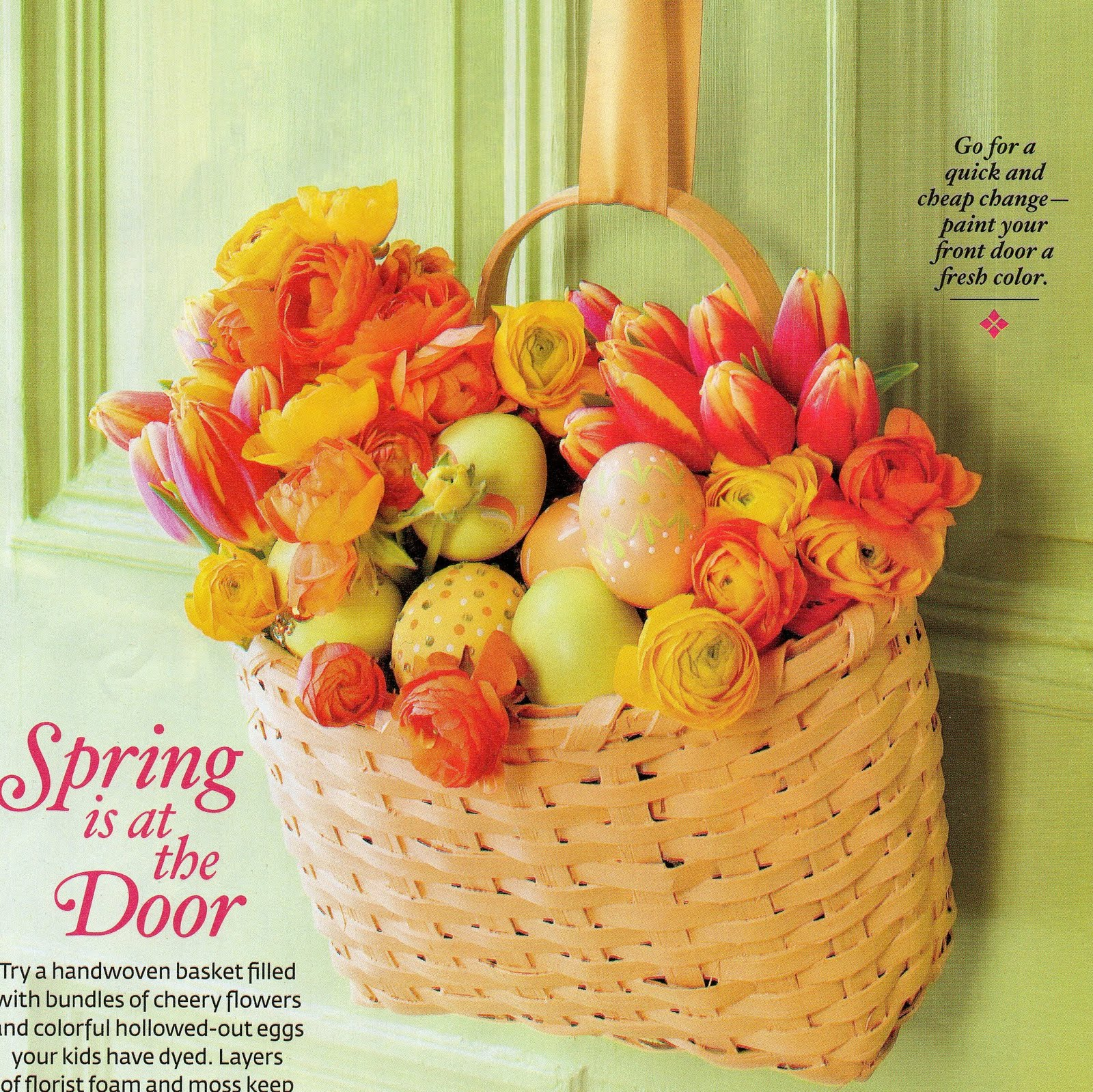 Party Frosting: Decorating for Easter