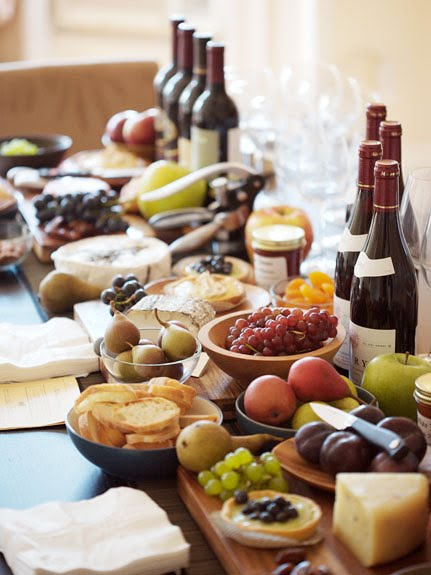 Party frosting wine tasting or bar party ideas for Cuisine wine