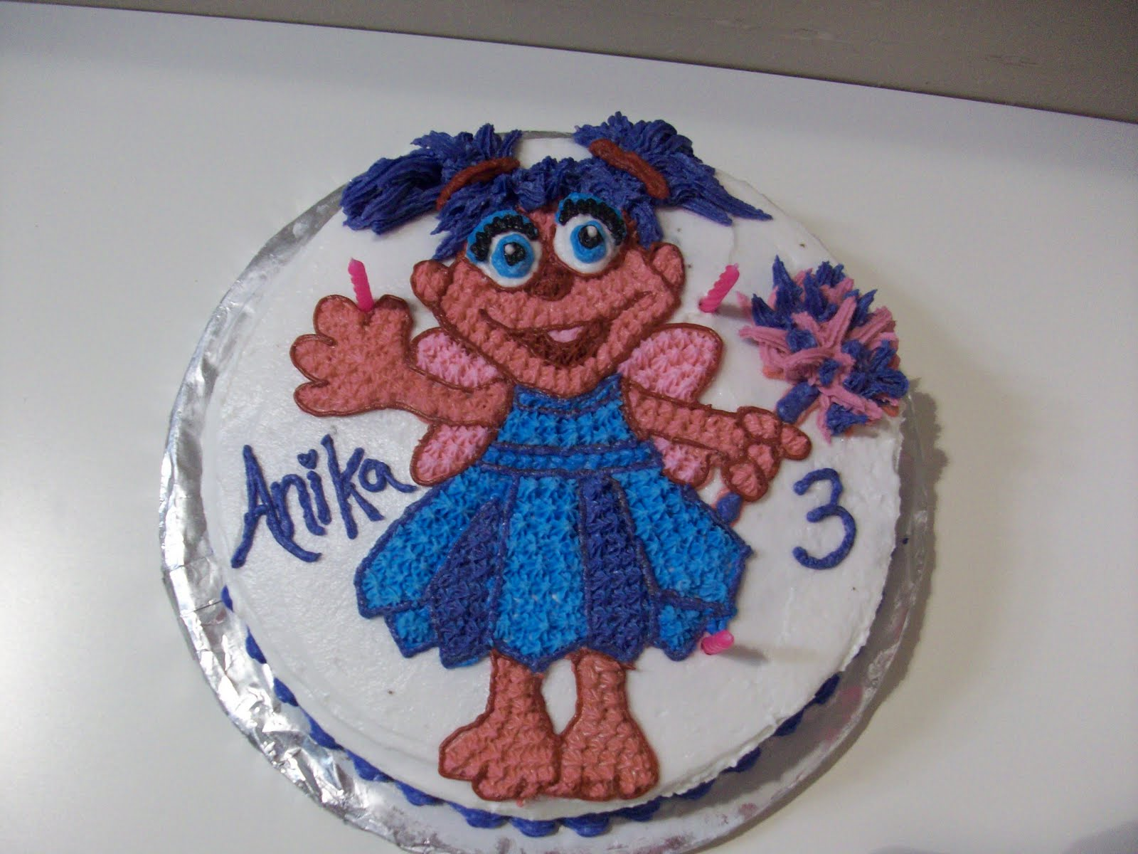 Cakes By Carla Abby Cadabby Birthday Cake