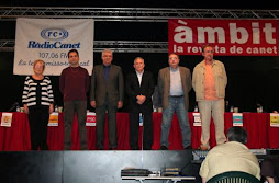 Candidatos a las municipales 2007 Canet de Mar