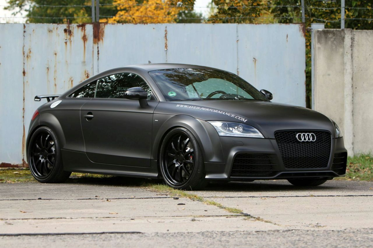 audi tt rs with 460hp by avus car tuning styling. Black Bedroom Furniture Sets. Home Design Ideas