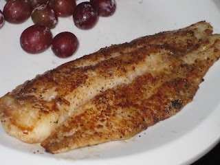 Holly 39 s healthy home cooking pan seared swai fish for Swai fish fillet