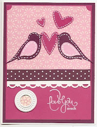 Faux Applique Love Birds
