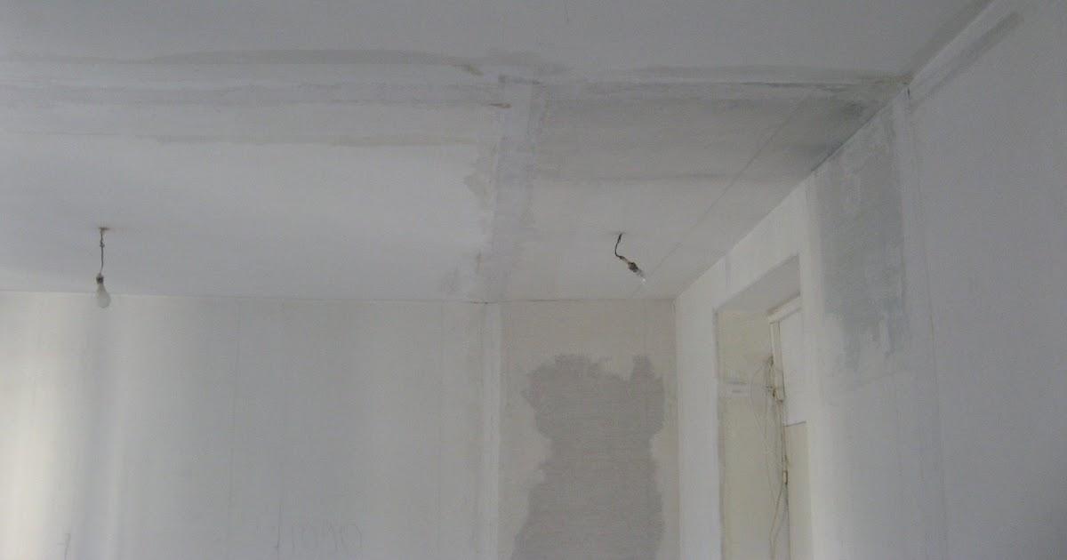 Appartement asni res suivi des travaux toile de verre au plafond - Toile de verre au plafond ...