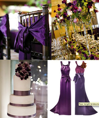 Pacittis Blog The Bright Colors Of Purple Turquoise And Brown Make For A Dramatic Table