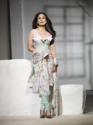 Kareena Kapoor flaunting her Indian and Western Dresses image