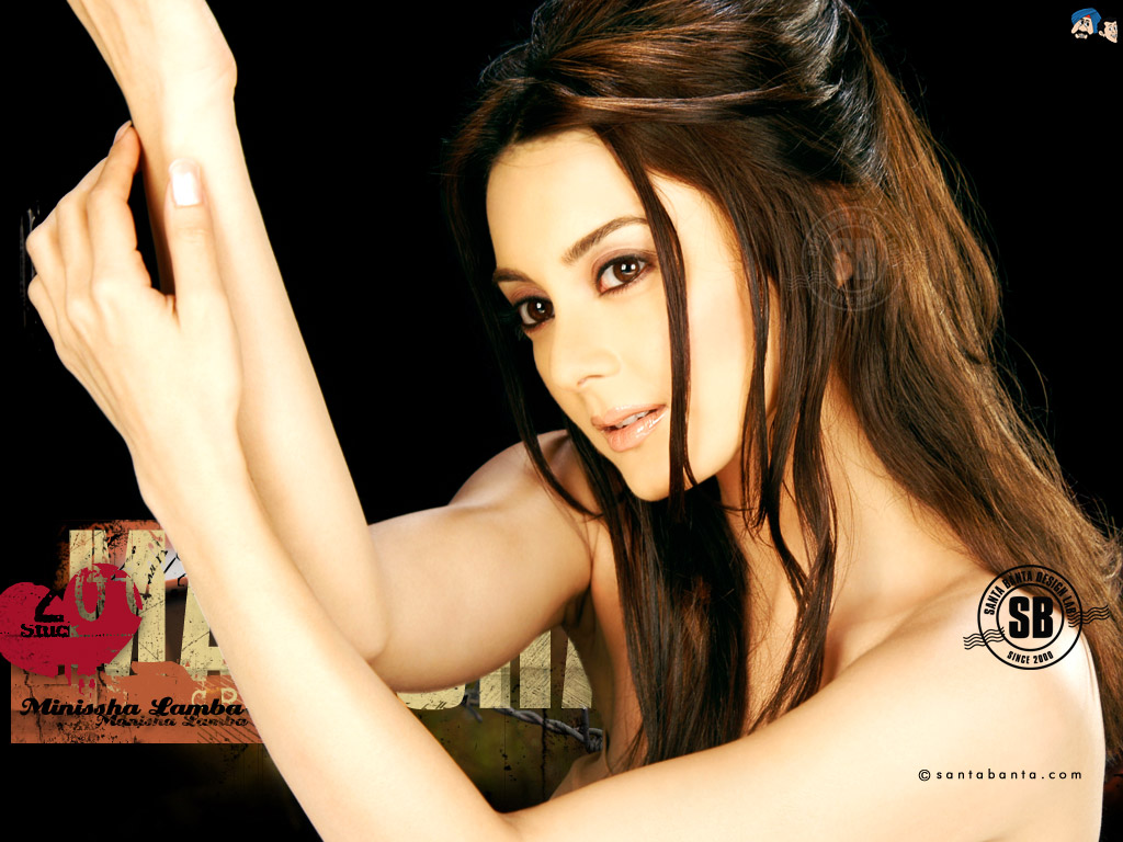 short celebrity hair: minissha lamba wallpaper | minissha lamba