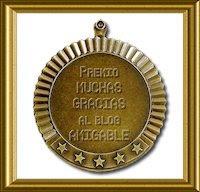 """Premio """"Muchas Gracias al Blog Amigable"""""""