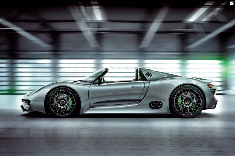the ill yorker porsche 918 spyder hybrid concept. Black Bedroom Furniture Sets. Home Design Ideas