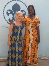 Senegalilaisia boubouja - taille basse ja tunika