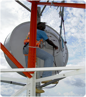 Wherever Microwave Links Exist The Path Between Antennas Has Always Required Accurate Antenna Alignment This Process Requires Highly Trained Tower Crews