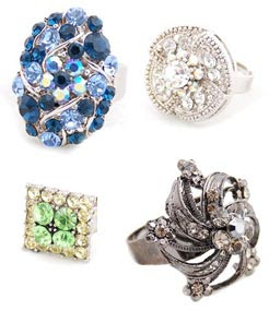 click here to check out Shefaly's ring collection