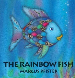 Character education using children 39 s literature rainbow for Rainbow fish children s book
