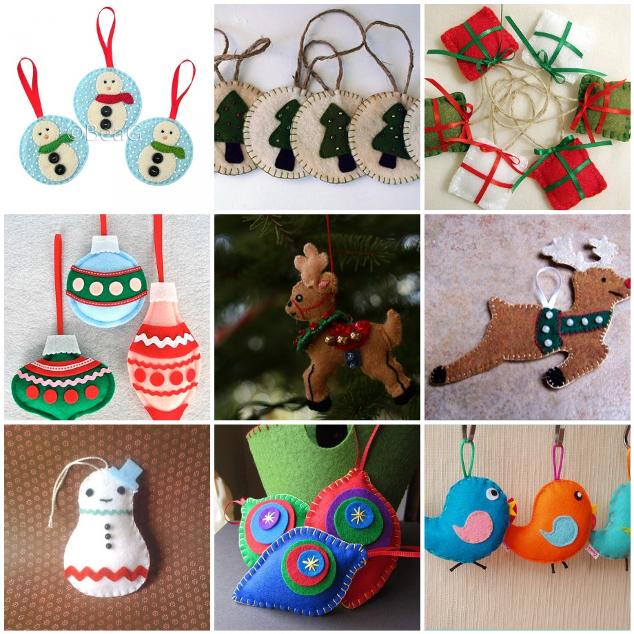 Christmas Crafts – Felt Ornaments