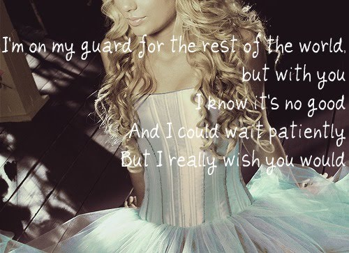 Sparks Fly ~Taylor Swift pretty picture