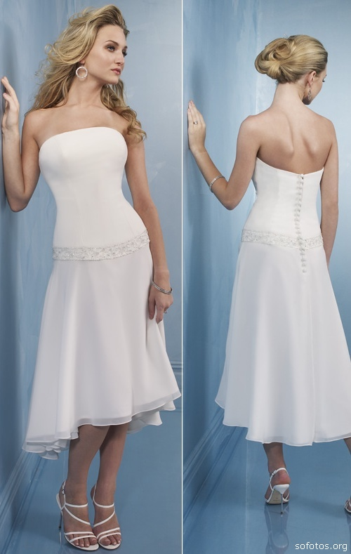 vestidos de noiva. Vestidos de Noiva para tarde