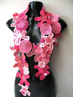 applehead: 100 flower scarf pattern - TypePad