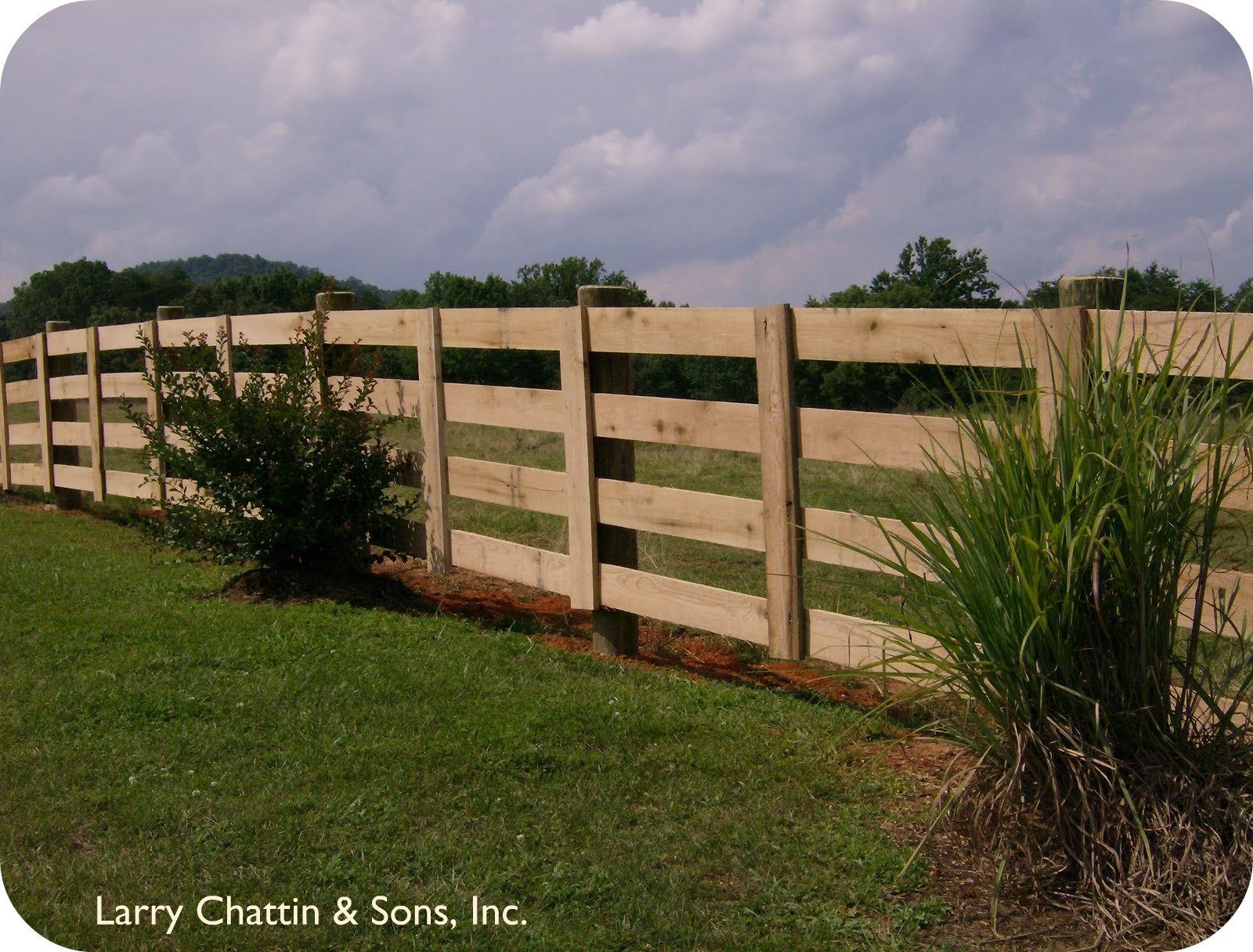 Larry Chattin Amp Sons Farm Fencing