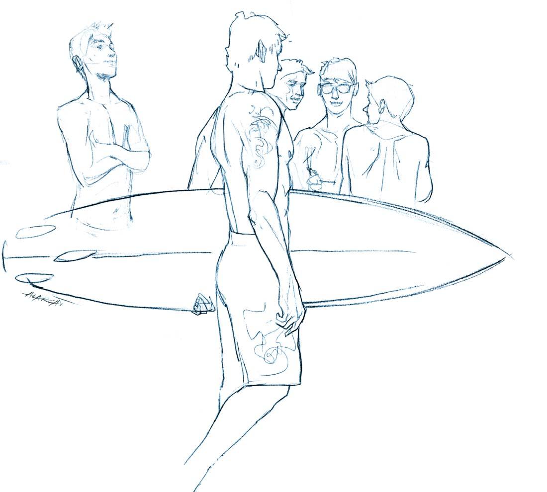 Desenhos De Prancha Surf Para Colorir Ptaxdyndnsorg