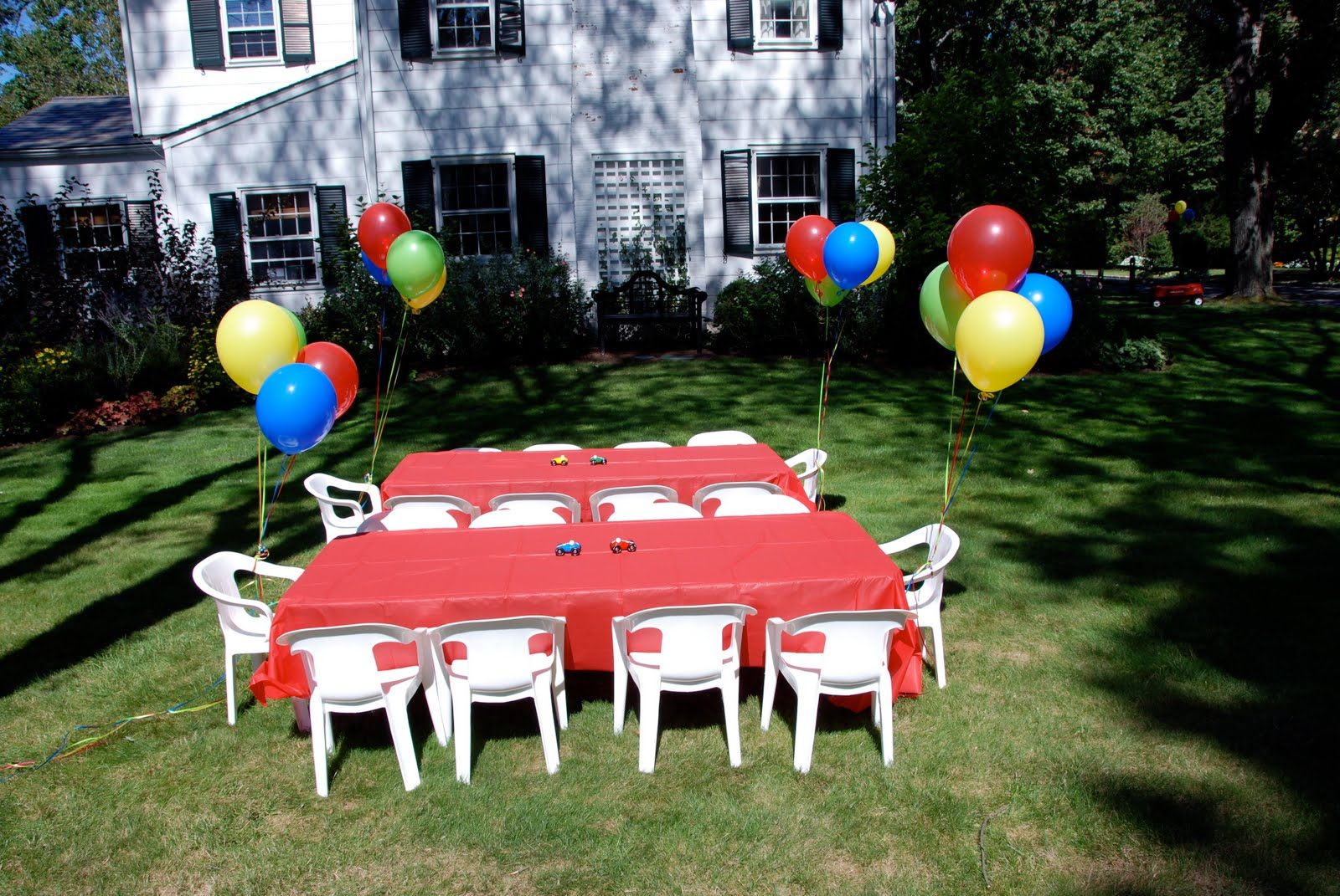 Cars Table Decorations Vroomvrooma Little Boys Birthday Party