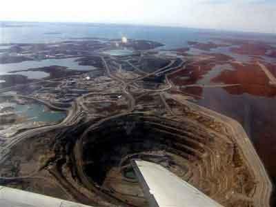 Los Hoyos Terrestres Más Impresionantes Diavik-Mine