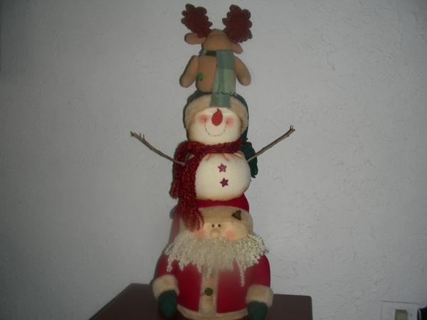 Muñecos Navideños para decorar la casa