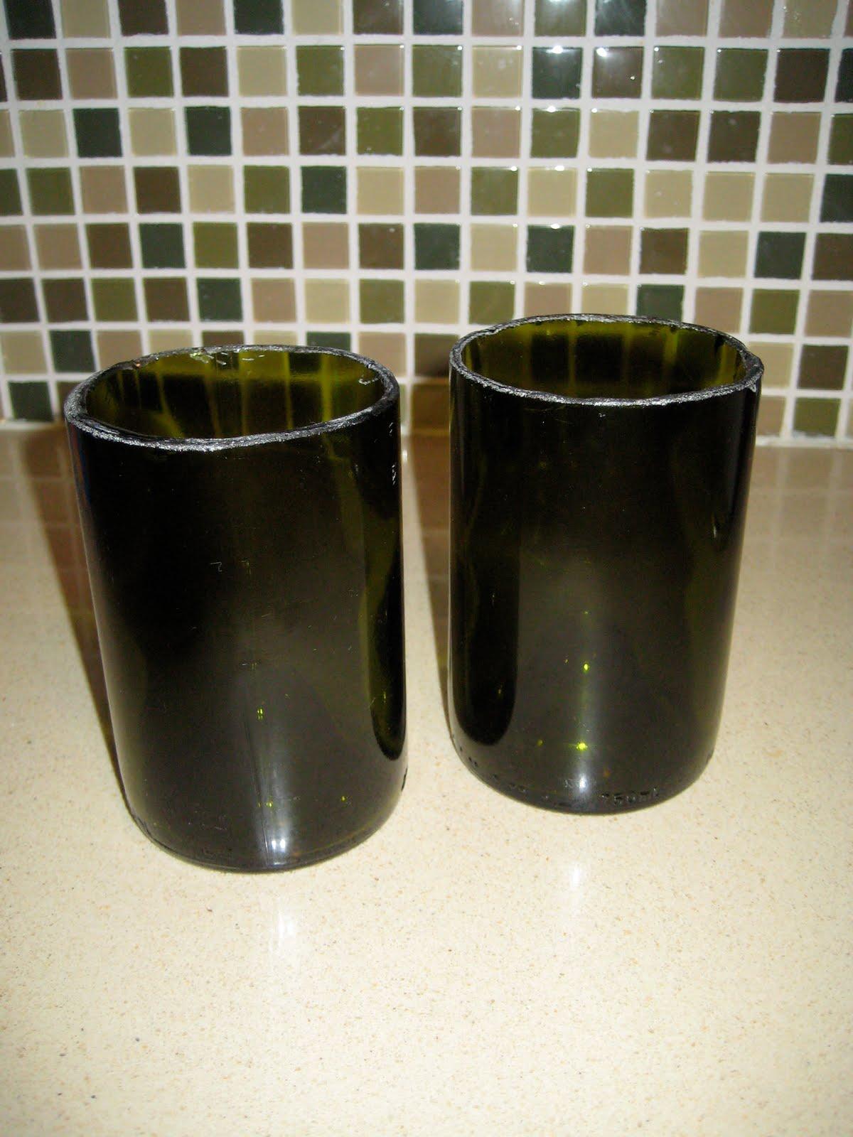 Adventures in creating diy for Wine bottle glasses diy
