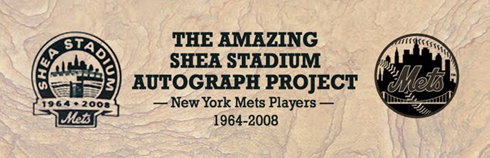 The Amazing Shea Stadium Autograph Project