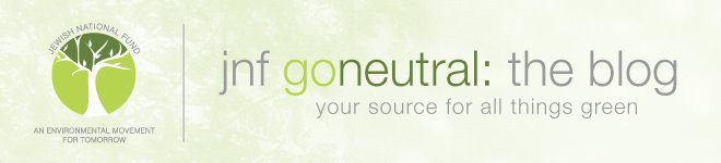 JNF GoNeutral: Your Source For All Things Green