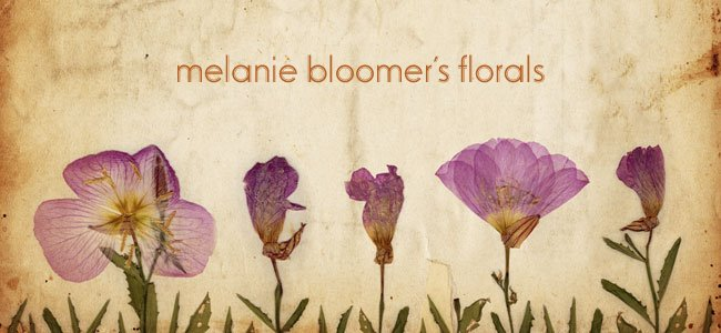 Melanie Bloomer's Florals