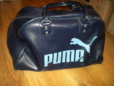 This vintage Puma bag was £12 from Urban Village, Birmingham- which I think  is very reasonable.