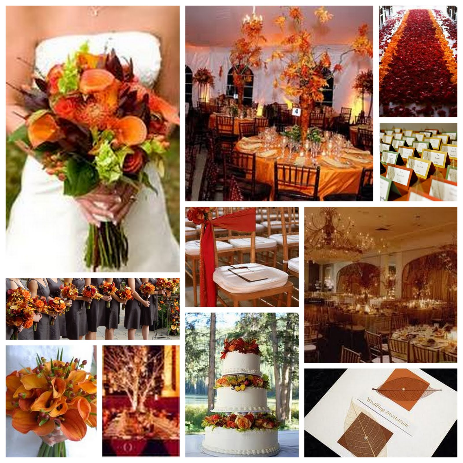 Wedding ideas for fall wedding plan ideas for Autumn wedding decoration